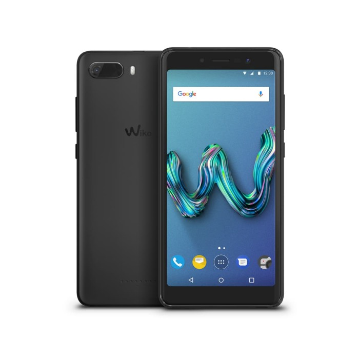 Wiko tommy 3 black smartphone 5.45  4g lte fullview display