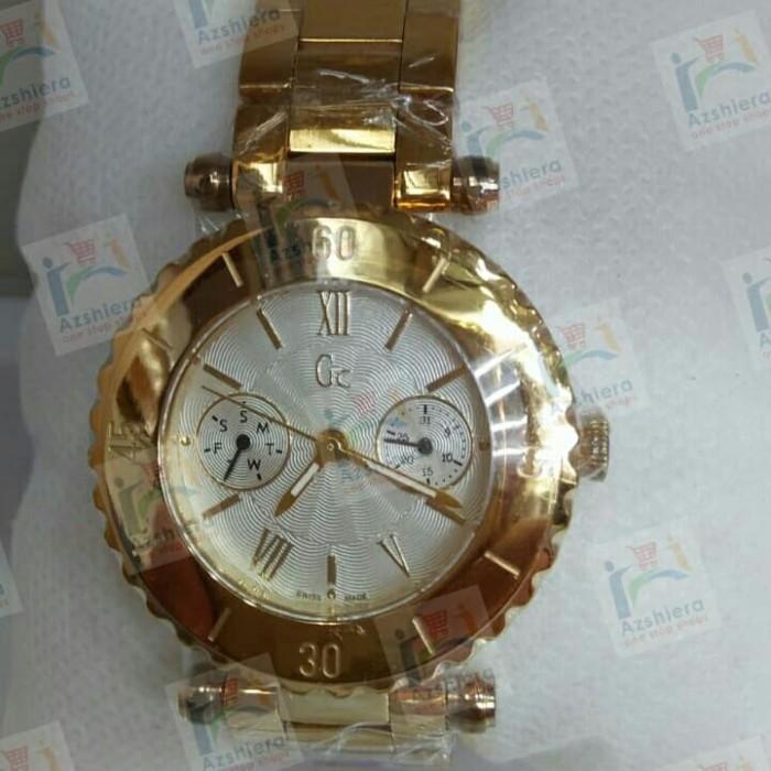 harga Jam tangan wanita gues collection gold Tokopedia.com