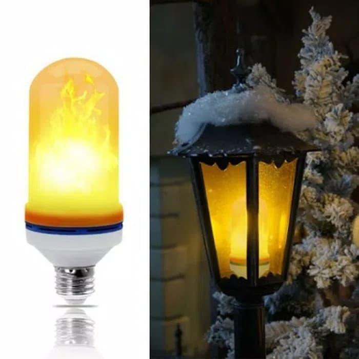 Foto Produk Lampu Tabung LED Bulb Obor Api Taman 9W E27 Flame Effect 3in1 220V dari Kurnia Jaya Electric