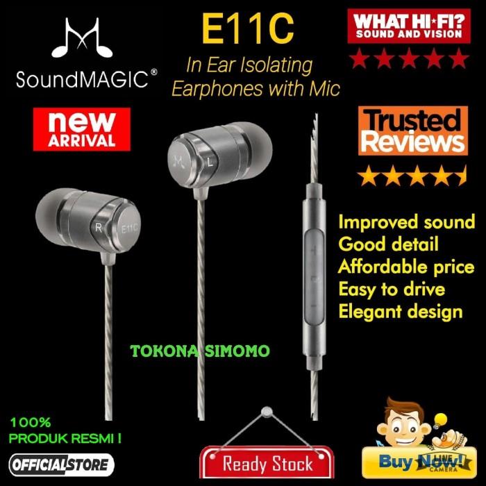 39cb979e249 Review SoundMAGIC E11C / E 11C In Ear Isolating Earphones With Mic ...