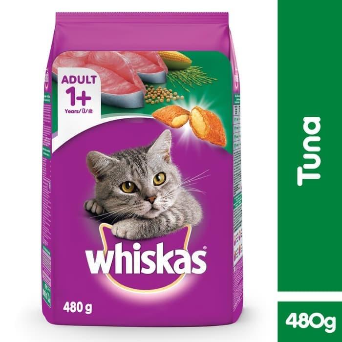 Jual Whiskas Dry 480gr Makanan Kucing Kering Rasa Tuna Kota