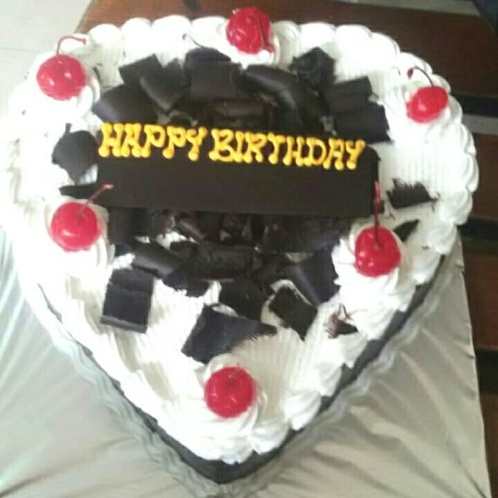 Enjoyable Jual Kue Ulang Tahun Birthday Cake Love Coklat Tempel Parut Personalised Birthday Cards Xaembasilily Jamesorg