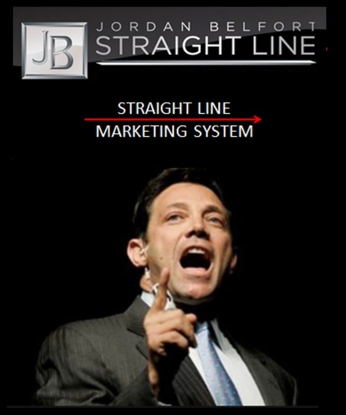 jordan belfort straight line flash cards