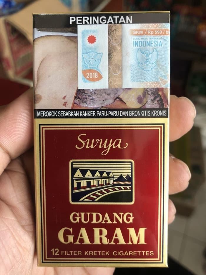 Jual Rokok gudang garam surya 12 - Kota Surabaya - knb