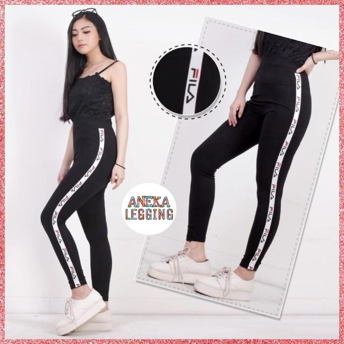 Jual Celana Legging List Fila Import Fashion Wanita Olahraga Celana Senam Jakarta Barat Hendes Collection Tokopedia