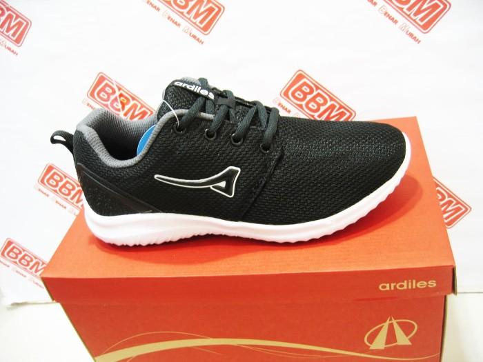 Ardiles kameko - sepatu wanita sneaker running santai - hitam putih ad8dbc30e1
