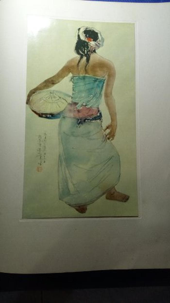 Jual Album Koleksi Lukisan Pak Soekarno 1956 Jakarta Barat Salamacua