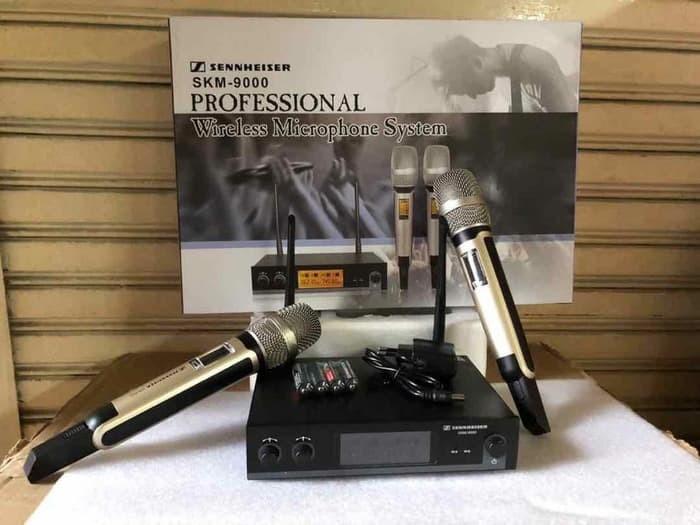 harga Sennheiser skm-9000 - microphone mic wireless pegang handheld Tokopedia.com