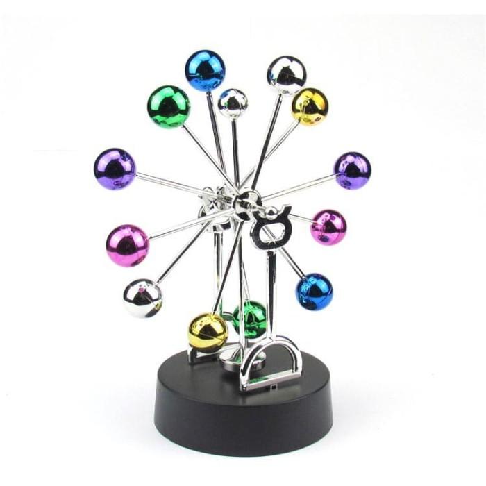 Pajangan Meja Pendulum Newton Model Ferris Wheel Limited