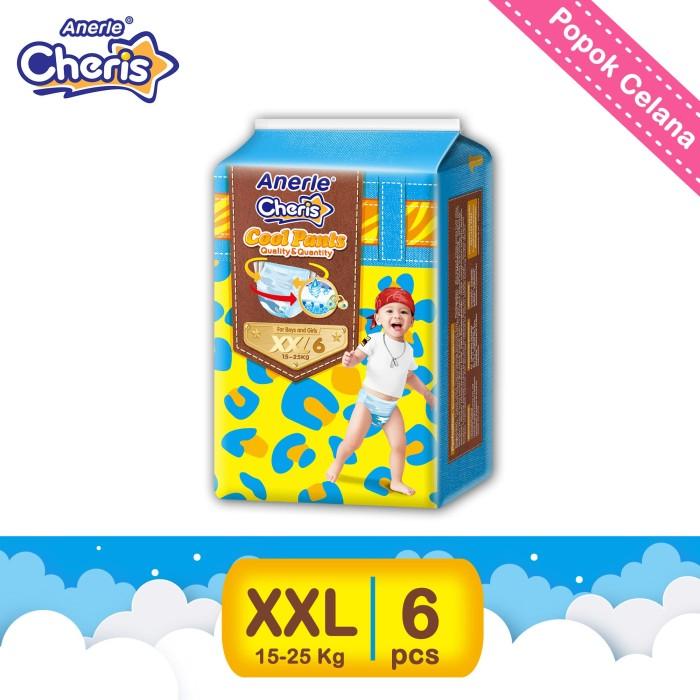 Promo-anerle cheris popok bayi pants xxl6 [kemasan trial]