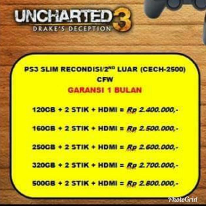Info 1 Playstation 3 Travelbon.com