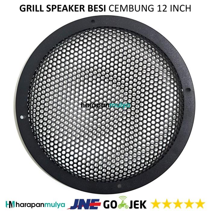 harga Grill speaker cembung 12  / ram speaker 12 inch besi Tokopedia.com