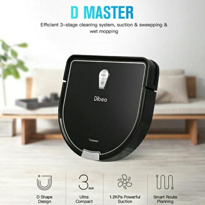Jual Robot Vacuum Cleaner Dibea D960 Pontianak Mini Smart House Tokopedia