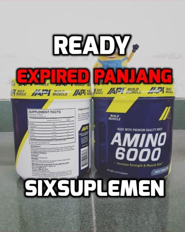 harga Api amino 6000 325 tabs Tokopedia.com