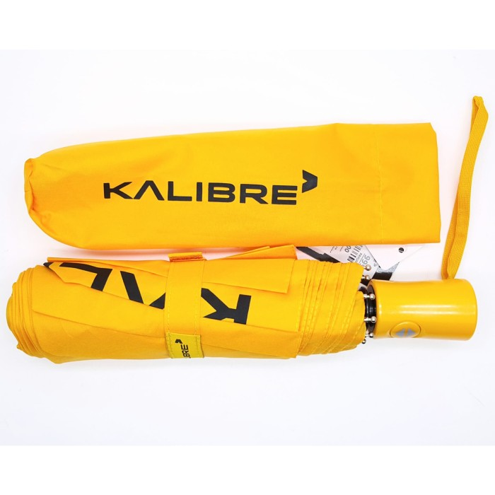 Kalibre 995277 payung lipat kuning diameter 97 cm waterproof anti uv