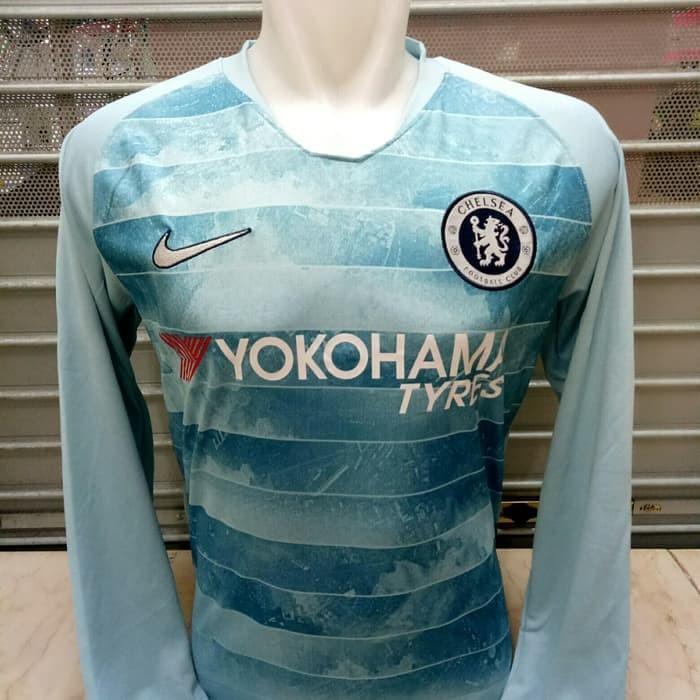new concept 7fb3d 51abf Jual Jersey Longsleeve Chelsea 3rd 2018/2019 grade ori official - Kota  Bekasi - gradeorijersey77 | Tokopedia