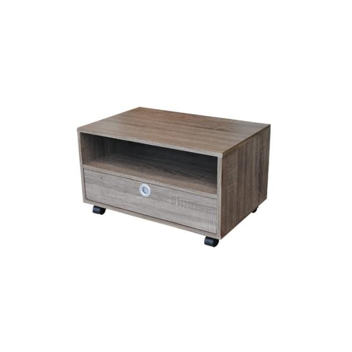 Jual Meja Tv Meja Sudut Serba Guna Grey Oak Khusus Jabodetabek Kota Tangerang Creova Furniture Tokopedia