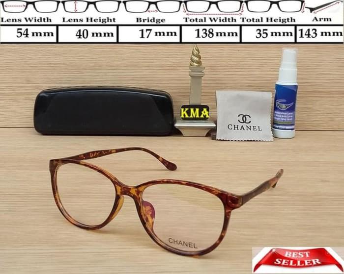 Segini Daftar Harga Termurah Frame Kacamata Chanel Murah Terbaru ... 7587df13a3