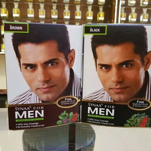Jual Synaa For Men Henna Hair Colour Jois2qway Online Shop