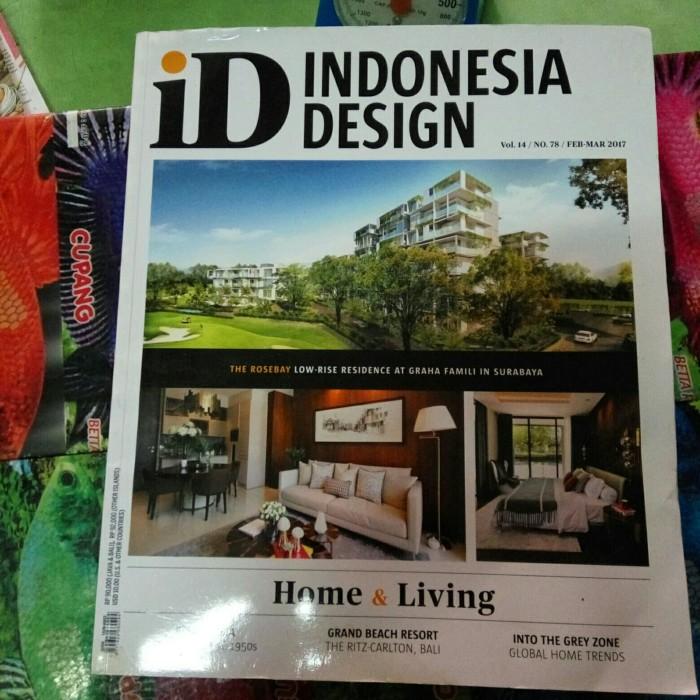 Jual Majalah Indonesia Design Kota Tangerang Selatan Toko Simu Tokopedia