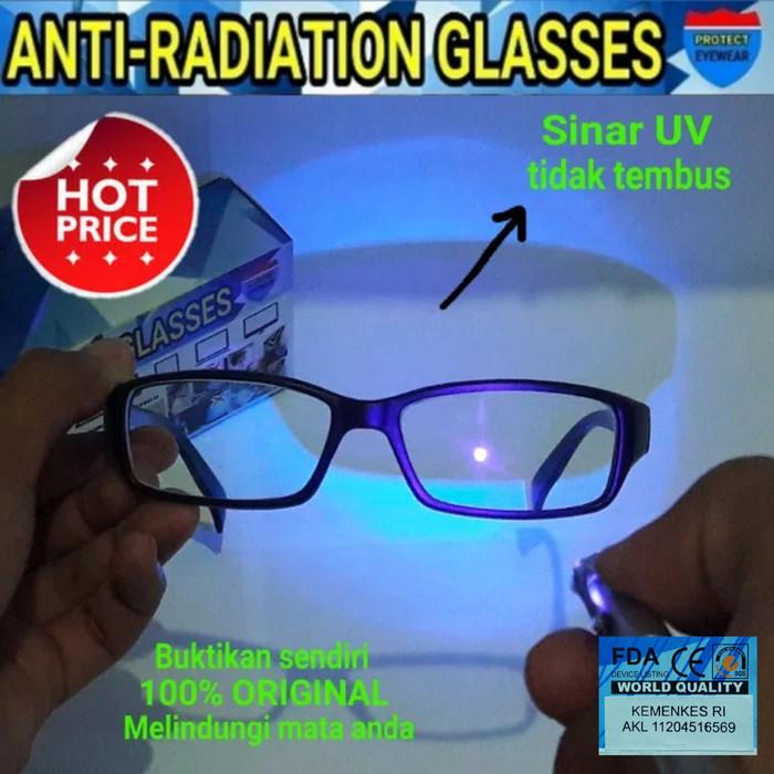 harga Kacamata anti radiasi original kacamata komputer laptop tv lcd monitor Tokopedia.com
