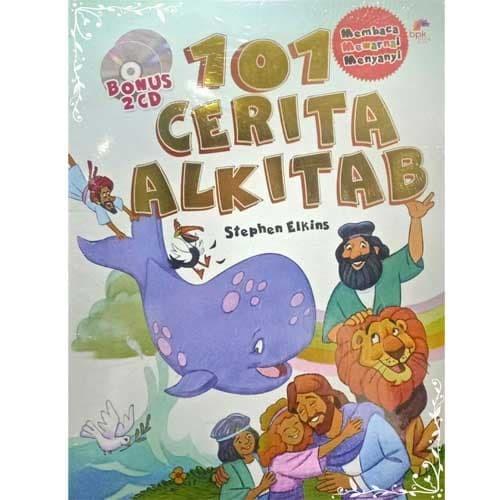 Jual 101 Cerita Alkitab Untuk Anak Membaca Mewarnai Dan Bernyanyi