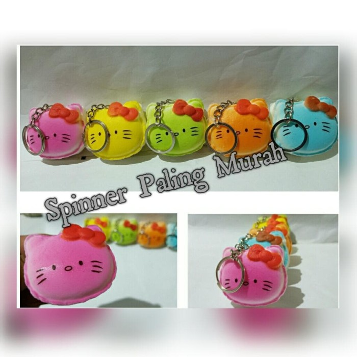 Foto Produk Squishy Hello Kitty / Gantungan Kunci Squishy Hello Kitty dari Spinner Paling Murah