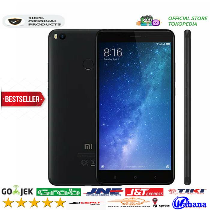 harga Xiaomi mi max 2 4/64 black edition global new !!! Tokopedia.com