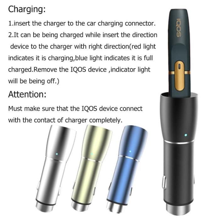 Turun harga Urant 5 W Charger untuk Iqos Aksesoris Mobil Universal Pen