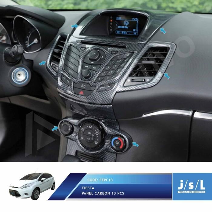 Jual JSL Panel Karbon 13 Pcs Ford Fiesta 2010 2013 Carbon - Jakarta Utara -  Autotivo - OS | Tokopedia