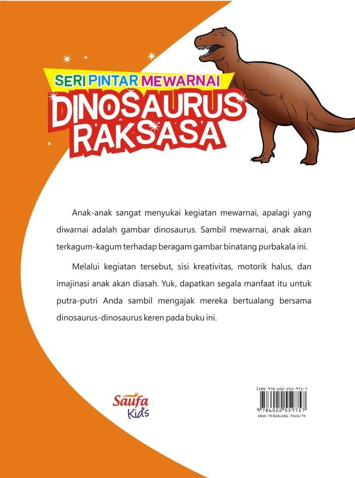Jual Seri Pintar Mewarnai Dinosaurus Raksasa Bazar Kab Bantul