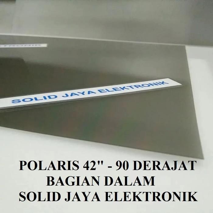 harga Polaris lcd 42 inc 90 derajat dalam polarizer 42inc 42  polarized Tokopedia.com