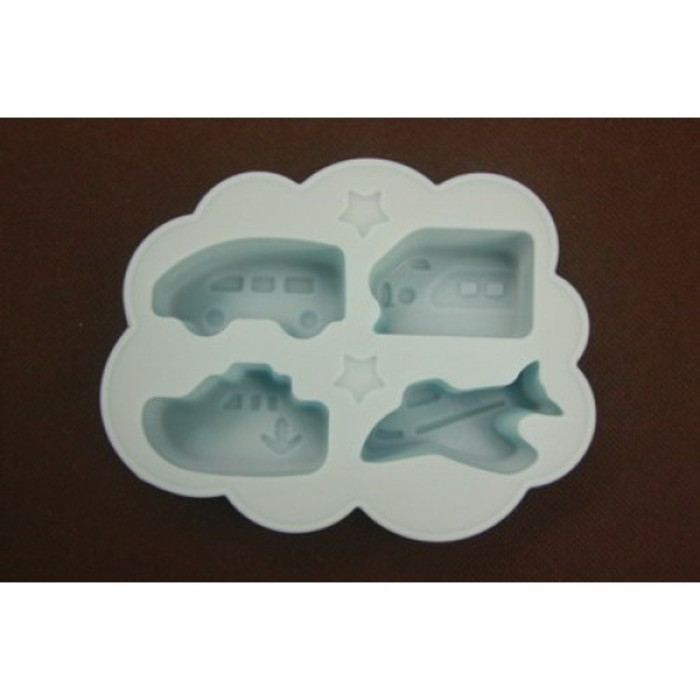 Silicon ice-cube tray (vehicle) (Kode : CO 11)