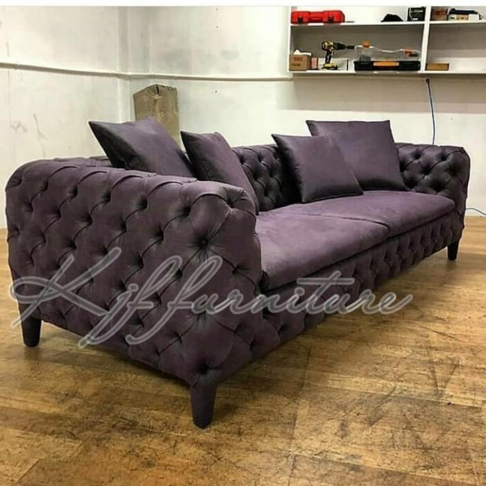 Chesterfield Sofa Modern Mewah