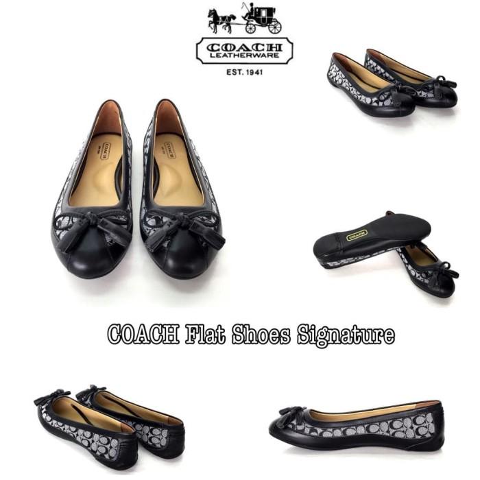 ff8ba30f Jual COACH Flat Shoes Signature - Jakarta Utara - Toko feli | Tokopedia