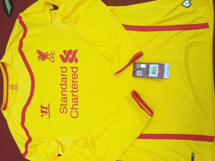 new product ae08a c4fd6 Jual Jersey Liverpool Away 2014-2015 - Size L - Kota Padang - Football  Addict Store | Tokopedia