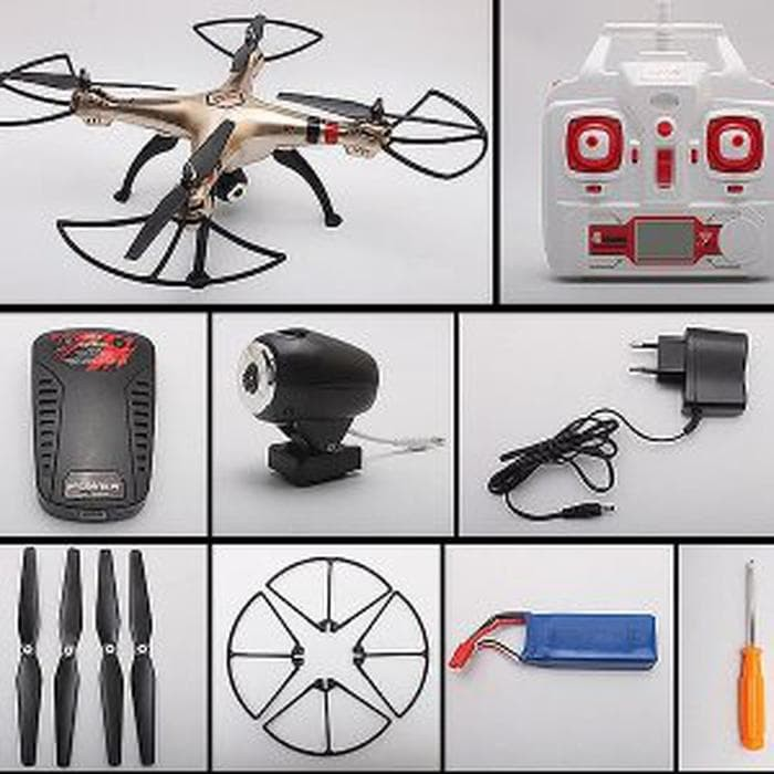 UNIK Syma X8HW with Camera Drone Hold Wifi Live View 2 MP HOT