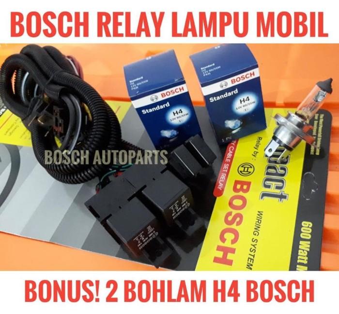 Jual Kabel Relay Set Lampu Mobil Bonus 2bohlam H4 12v 60w 55w Bosch Asli Jakarta Barat Sanjaya Bagus Store Tokopedia