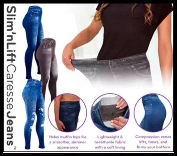 TERBATAS Slim n Lift Caresse Jeans Celana Pelangsing BIG SALE