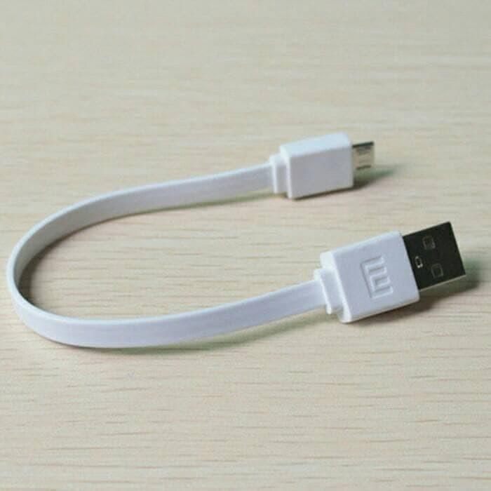 Kabel Charger Micro USB Power Bank 20cm Kabel Data Pendek