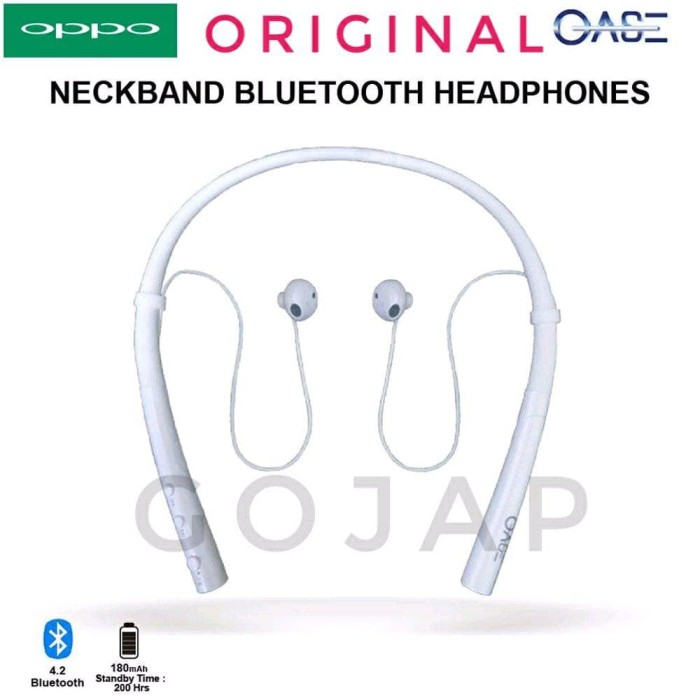 Harga Best Oppo Headset Bluetooth Original Headphone Sport Kalung
