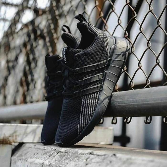 Jual Adidas Questar Flow / Full Black