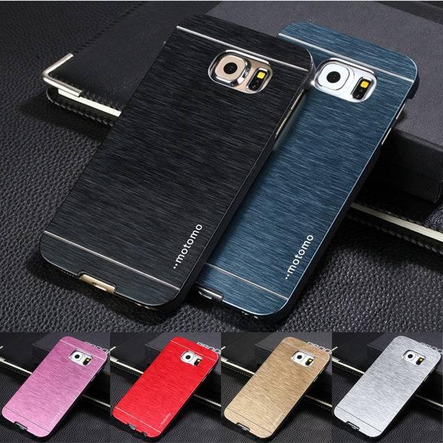 Motomo Case Samsung S6 S6 Edge S6 Edge Bahan Metal