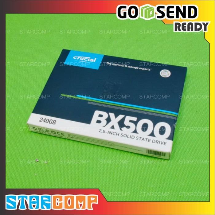 Jual SSD Crucial BX500 240GB - Kab  Sleman - StarComp   Tokopedia