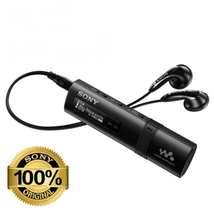 Foto Produk SONY NWZ-B183F BLACK/RED 4GB MP3 PLAYER - Hitam dari EtalaseBelanja