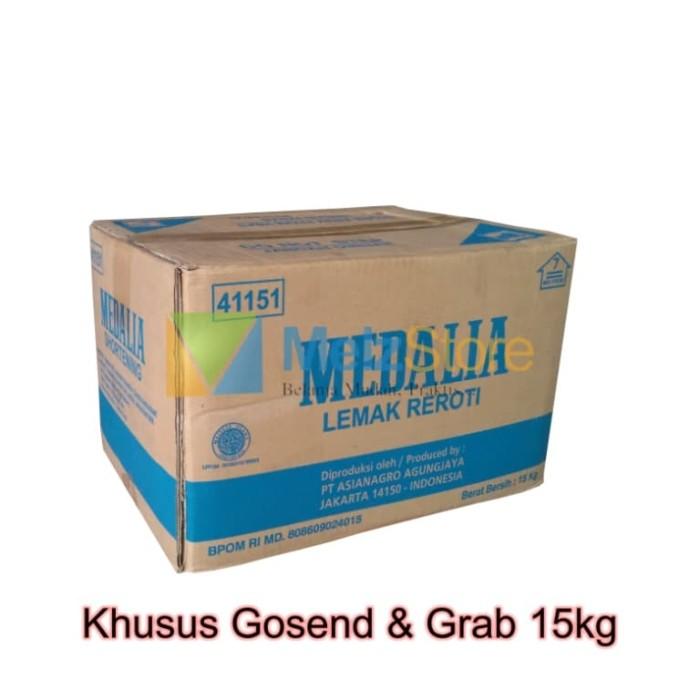 Foto Produk [Khusus Gojek]Margarin/Mentega Putih/Shortening Medalia 15kg dari MelzCorp