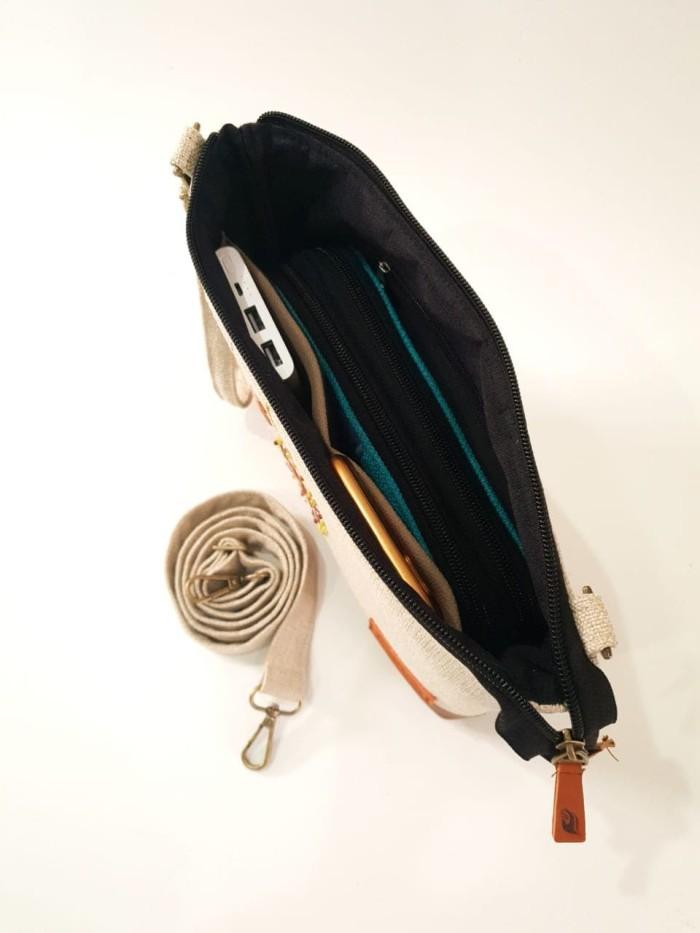 Tas Selempang Branded Wanita - Tas Marawa Sling Bag Cantik Murah - Biru Muda f3667fa748