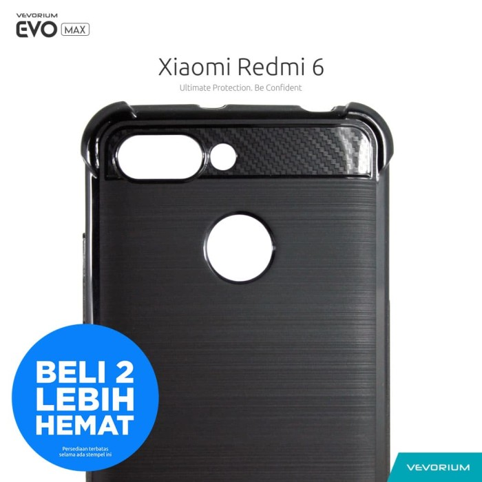 watch decff eaeed Jual VEVORIUM EVO MAX Xiaomi Redmi 6 Redmi6 Anti Crack Soft Case Softcase -  Hitam - Kota Surabaya - Vevorium | Tokopedia