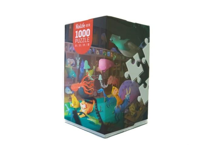 harga Robotic jigsaw puzzle - animals painting - 1000 pcs Tokopedia.com
