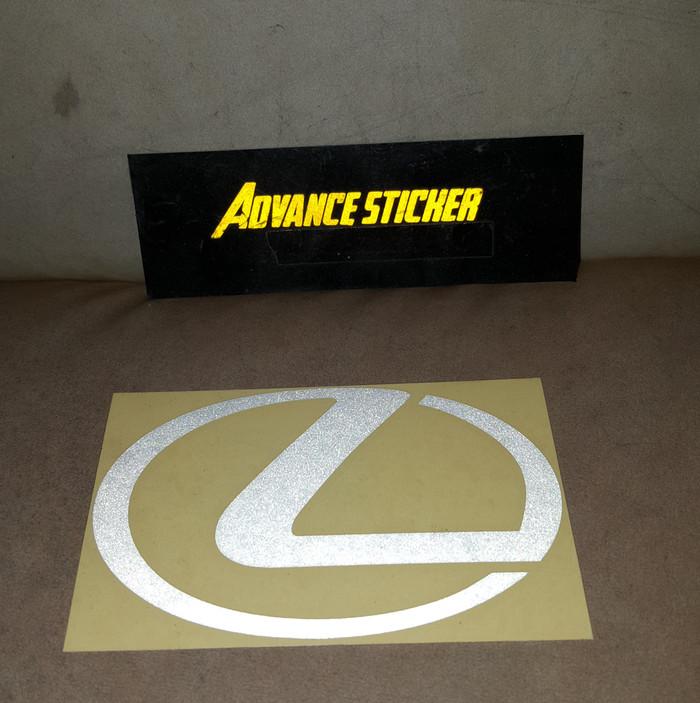 Jual Stiker Sticker Mobil Lexus Logo Kab Sidoarjo Advance Sticker Tokopedia